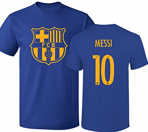 Barcelona Soccer Shirt Lionel Messi #10 Futbol Jersey Youth T-shirt Barcelona Soccer Shirts