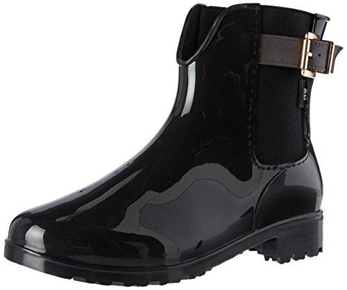 XTI Women's 030500 Wellington Boots, Black Black (Black Black)