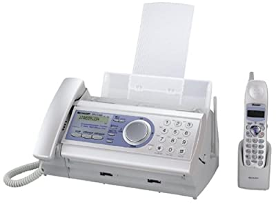 Sharp UX-CC500 5-in-1 Communication Center with Expandable Cordless Phone and Answering Machine