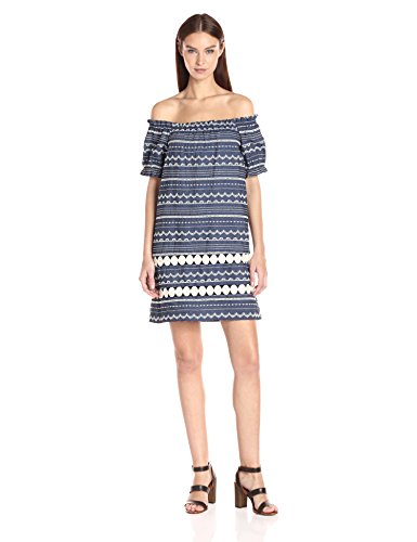 Parker Women's Damaris Dress, Chambray, L