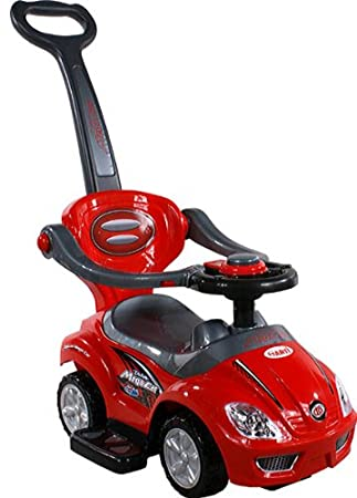 Baby Car ARTI 381 Mega Car Deluxe Red - Coche para bebe - Coches para ninos - Ride-on: Amazon.es: Juguetes y juegos