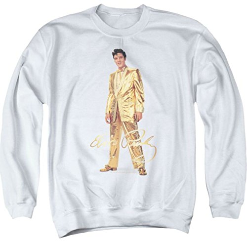 Sweater: Gold Lame Suit Elvis Presley