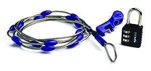 Pacsafe Wrapsafe Anti-Theft Adjustable Cable Lock, Steel
