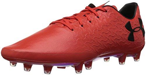 Under Armour Men's Magnetico Pro Frim Ground Soccer Shoe, (600)/Radio Red, 9.5