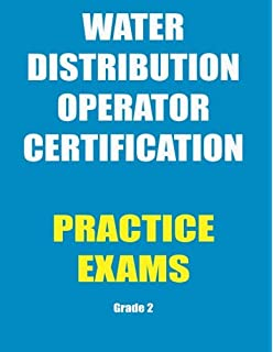 Amazon water operator certification study guide a guide to practice exams water distribution operator certification fandeluxe Choice Image
