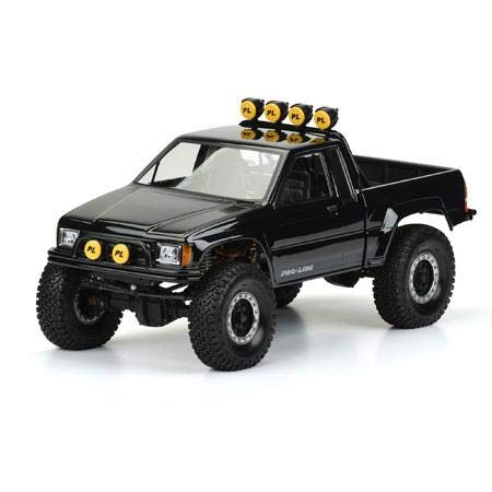 Pro-line Racing 85 Toyota HiLux SR5 Clear Body (Cab and Bed): SCX10 Honcho 12.3 WB, PRO346600