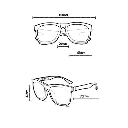 UV 3 De Gafas 2 De YQ Unisex Ultralight Gafas Turista Sol Polarizadas QY Protección Color qFccwTOUvp