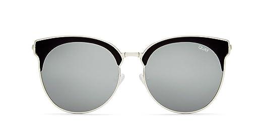 Quay Mia Bella Sunglasses (Black, Silver)