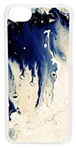 CellPowerCasesTM Artistic Grunge Background Case for iPhone 5c (Clear Case)