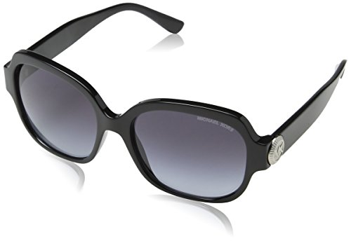 Michael Kors Women's Suz 0MK2055 56mm Black/Grey Gradient Sunglasses (Sunglasses Kors Michael)