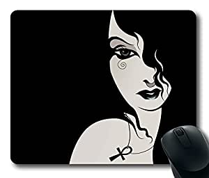 """Death Pattern Rectangle Oblong Mouse Pad Design Mousepad in 220mm*180mm*3mm (9""""*7"""") -81942 by mcsharks"""
