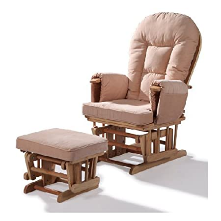 Beau REPLACEMENT CUSHIONS FOR GLIDER ROCKING NURSERY CHAIR AND FOOT STOOL