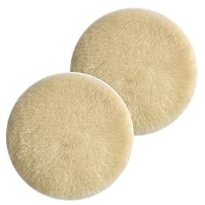 "Porter Cable 7336/97466 Sander Hook & Loop 6"" Lambswool Polishing Pad (2 Pack) # 18007-2pk"
