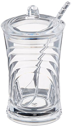 Prodyne Sugar Please Acrylic Sugar Jar with Spoon in (Jar Spoon)