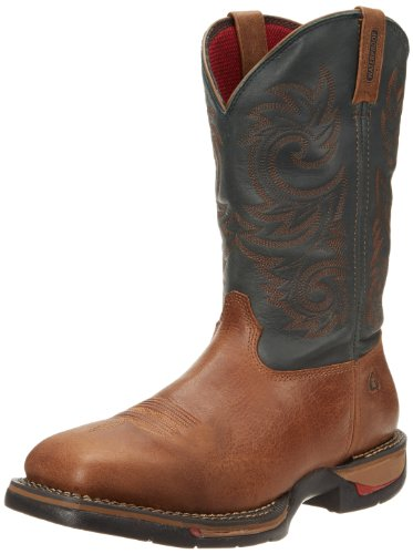 Boot Western Rocky Navy Range Long Men's R6wAqZI