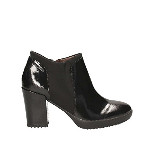 Stonefly Heels Black Platform 3 Naplack Women's Oprah fr6q0wzf