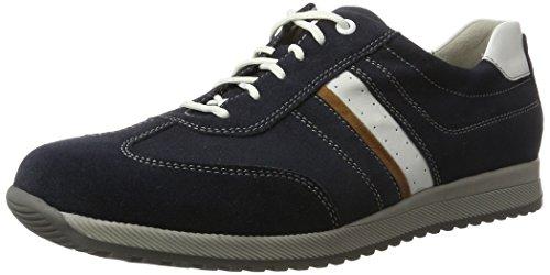 Runner Mens Hagen Sneakers Multicolore (deepblue Cogn. Bianco)