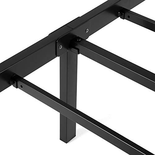 Noah Megatron 14 inch Heavy Duty Twin Size Metal Platform Bed Frame/No Box Spring Needed Mattress Foundation by Noah Megatron (Image #3)