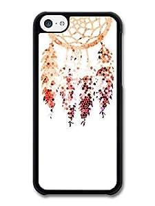 AMAF ? Accessories Dreamcatcher Orange Red Purple case for iPhone 5C