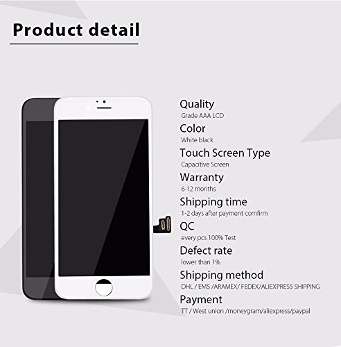 "China Tianma Quality iPhone 7 4.7"" LCD Screen Replacement..."