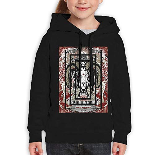 Guiping The Mars Volta Rock Band Goliath Logo Youth Pullover Hooded Sweatshirt Black -