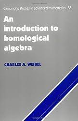 An Introduction to Homological Algebra (Cambridge Studies in Advanced Mathematics)