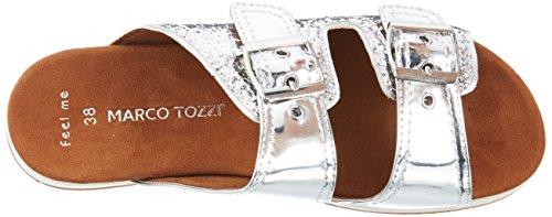 MARCO 27402 Silber TOZZI Silver Pantoletten Damen nzrZTn