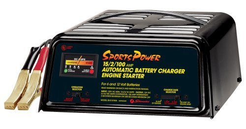 Schumacher SE-2151MA SportsPower 2/15/100 Amp Automatic Battery Charger and Engine Starter
