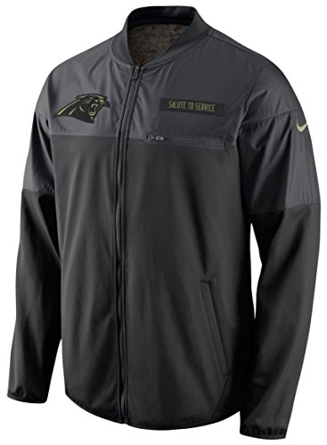 - Carolina Panthers 2016 Nike NFL Salute to Service Mens Hybrid Jacket (Large)