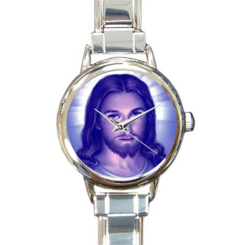 Personalized Watch Jesus Christ Round Italian Charm stainless steel Watch