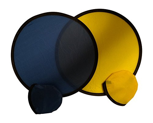 Colors May Vary Rhode Island Novelty 4 Pocket Flying Saucers