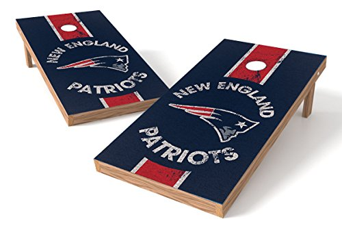 Products New England Game Patriots - Wild Sports 2'x4' NFL New England Patriots Cornhole Set - Heritage Design