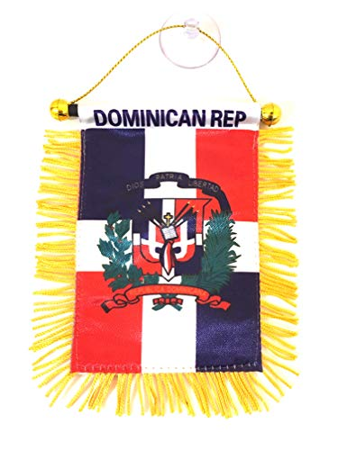 Dominican Republic car Flags Well Made Dominican Car Accessories Flags