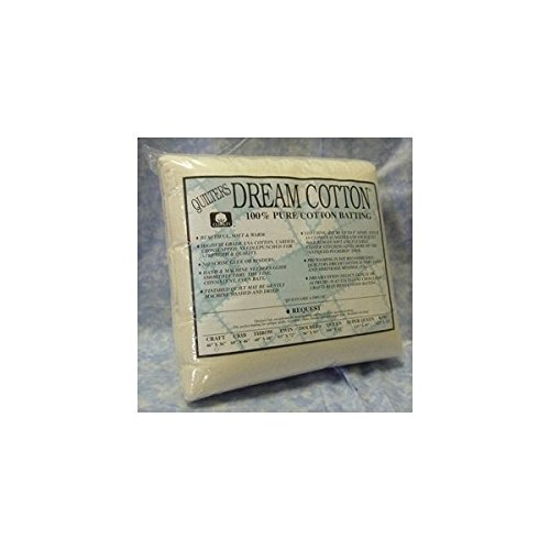 - Quilter's Dream Batting- Natural Cotton Request- Thin Loft- Throw
