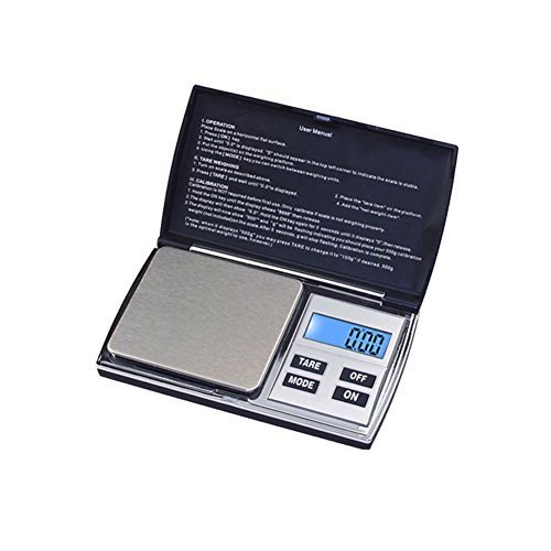 19 Black Digital Lcd - Lovinglove High Precision Electronic Jewelry Scale LCD Display Gold Scale (Black 1000x0.1g)