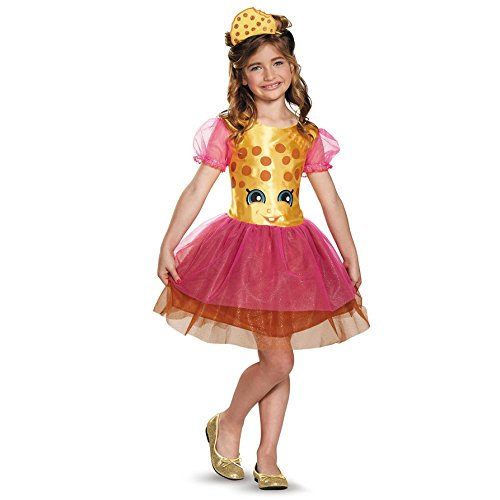 Kookie Cookie Classic Shopkins The Licensing Shop Costume, Medium/7-8
