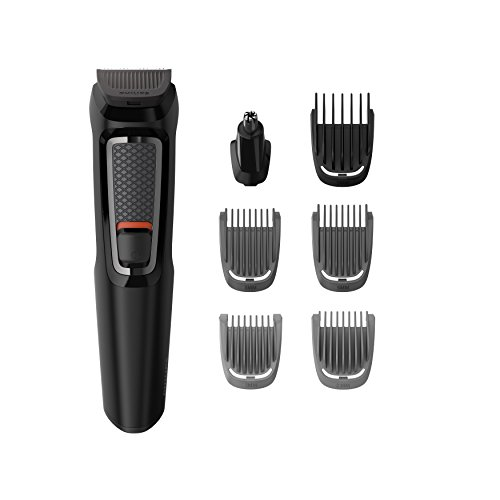 Philips Series 3000 7-in-1 Multi Grooming Kit for Beard & Hair with Nose...
