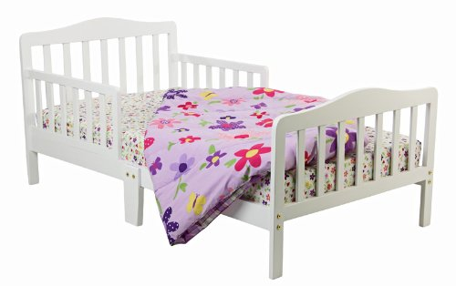 dream on me classic toddler bed in white buy online in uae baby product products in the uae. Black Bedroom Furniture Sets. Home Design Ideas