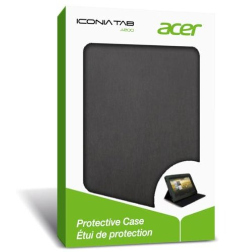 Acer Iconia Tab A200 Foldable Protective Case - Black (A200C01)