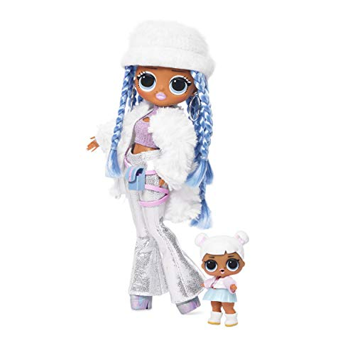 L.O.L. ¡Sorpresa! DIOS MIO. Winter Disco Snowlicious Fashion Doll & Sister
