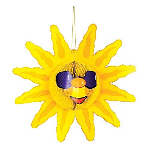 Fun Express Tissue Sun Decoration]()