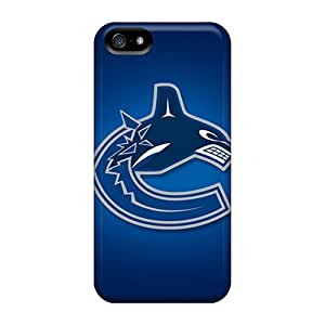 New Customized Design Vancouver Canucks For Iphone 5/5s Cases Comfortable For Lovers And Friends For Christmas Gifts