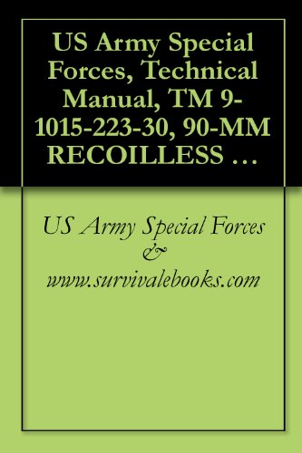 US Army Special Forces, Technical Manual, TM 9-1015-223-30, 90-MM RECOILLESS RIFLE: M67 W/E, (1015-00-657-7534), - 657 Us