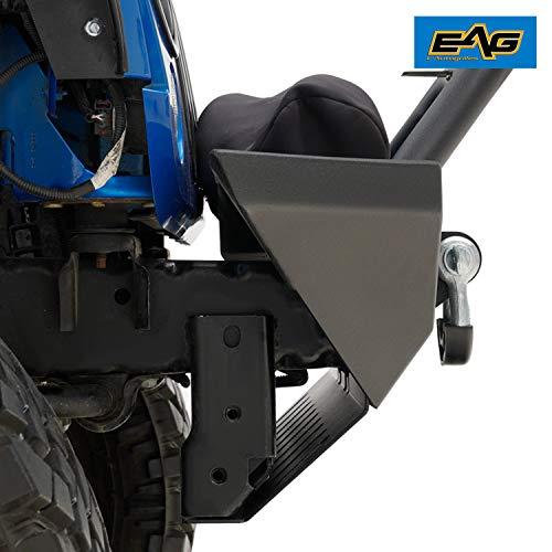 EAG Fit 07-18 Jeep Wrangler JK Skid Plate for Bumper JJKFB001//JJKFB036