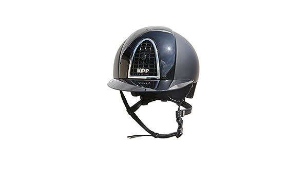 Kep cromo adultos casco de textil con inserciones de pulido - negro: Amazon.es: Deportes y aire libre