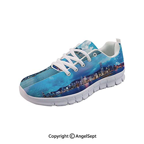 Women's Sneakers of Hong Kong City Evening Casual Sport Run Shoes -