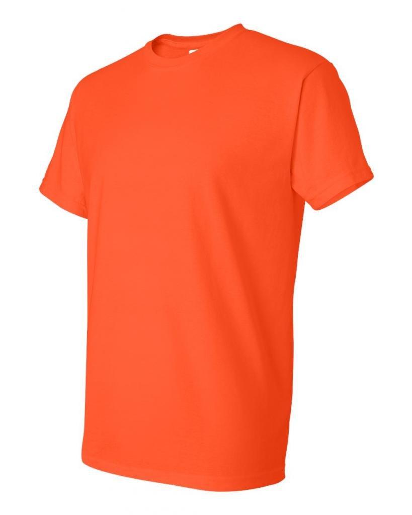 Gildan SHIRT メンズ B0014C54ZO M|オレンジ オレンジ M