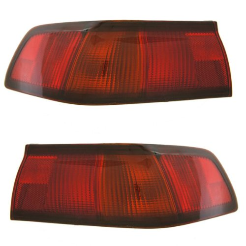 - 1997-1998-1999 Toyota Camry Taillight Taillamp Rear Brake Tail Light Lamp Pair Set Right Passenger AND Left Driver Side (97 98 99)