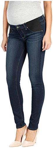 PAIGE Women's Maternity Verdugo Ultra Skinny with Elastic Insets in, Nottingham, 30