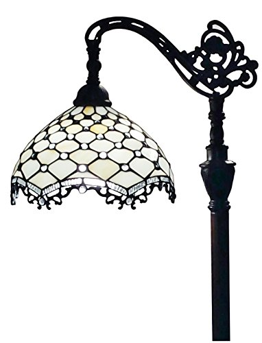 Amora Lighting AM1535TL16B Tiffany Table Lamp, Multicolored ()